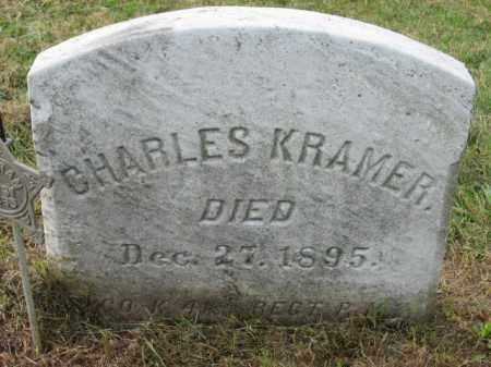 KRAMER, CHARLES - Lehigh County, Pennsylvania | CHARLES KRAMER - Pennsylvania Gravestone Photos