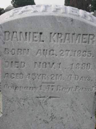 KRAMER, DANIEL - Lehigh County, Pennsylvania | DANIEL KRAMER - Pennsylvania Gravestone Photos
