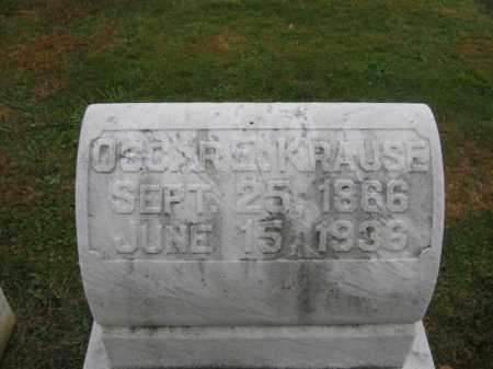 KRAUSE, OSCAR E. - Lehigh County, Pennsylvania   OSCAR E. KRAUSE - Pennsylvania Gravestone Photos