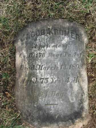KROMER, PVT. JACOB - Lehigh County, Pennsylvania | PVT. JACOB KROMER - Pennsylvania Gravestone Photos