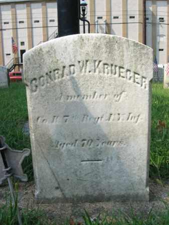 KRUEGER, CONRAD W. - Lehigh County, Pennsylvania | CONRAD W. KRUEGER - Pennsylvania Gravestone Photos