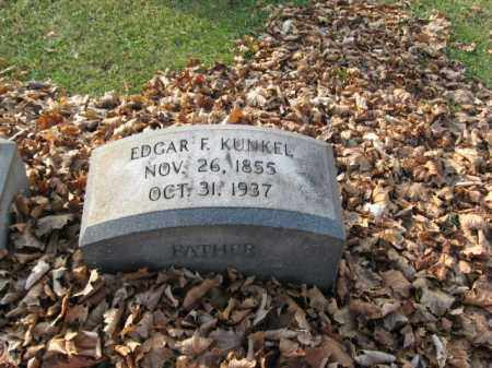 KUNKEL, EDGAR F. - Lehigh County, Pennsylvania   EDGAR F. KUNKEL - Pennsylvania Gravestone Photos