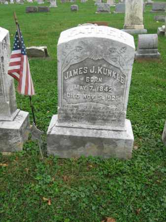 KUNKLE, JAMES J. - Lehigh County, Pennsylvania | JAMES J. KUNKLE - Pennsylvania Gravestone Photos