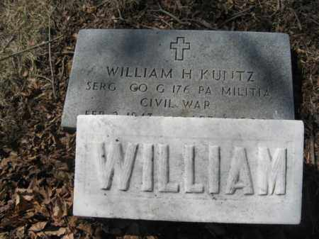 KUNTZ   (CW), SERGT. WILLIAM H, - Lehigh County, Pennsylvania   SERGT. WILLIAM H, KUNTZ   (CW) - Pennsylvania Gravestone Photos