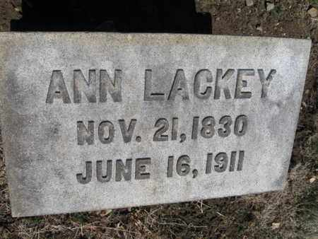 LACKEY, ANN - Lehigh County, Pennsylvania | ANN LACKEY - Pennsylvania Gravestone Photos
