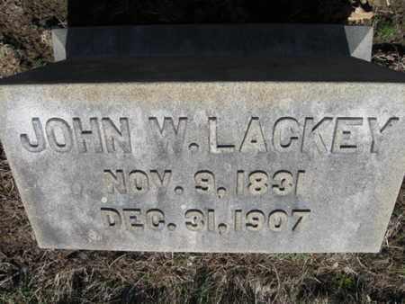 LACKEY (CW), JOHN W. - Lehigh County, Pennsylvania | JOHN W. LACKEY (CW) - Pennsylvania Gravestone Photos