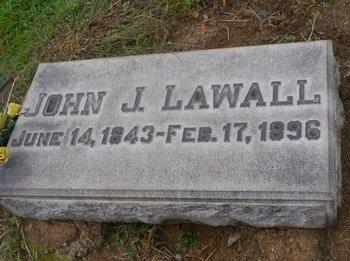 LAWALL (CW), JOHN J. - Lehigh County, Pennsylvania   JOHN J. LAWALL (CW) - Pennsylvania Gravestone Photos