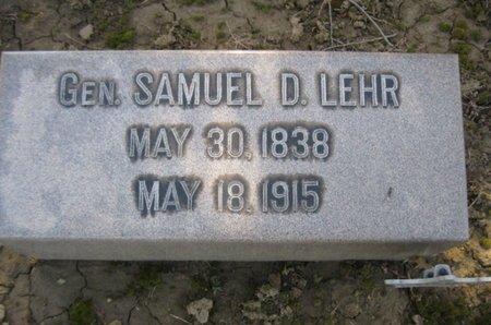 LEHR (CW), SAMUEL D. - Lehigh County, Pennsylvania   SAMUEL D. LEHR (CW) - Pennsylvania Gravestone Photos