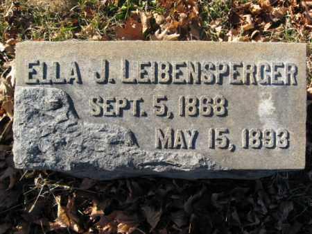 LEIBENSPERGER, ELLA - Lehigh County, Pennsylvania | ELLA LEIBENSPERGER - Pennsylvania Gravestone Photos