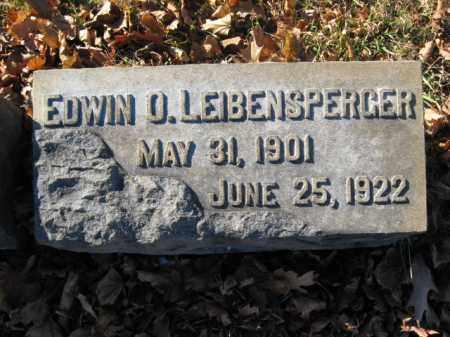 LEIBENSPERGER, EDWIN O. - Lehigh County, Pennsylvania | EDWIN O. LEIBENSPERGER - Pennsylvania Gravestone Photos