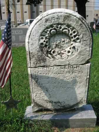 LERCH, B.F. - Lehigh County, Pennsylvania | B.F. LERCH - Pennsylvania Gravestone Photos