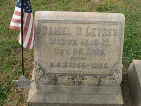 LEYRER, DANIEL D. - Lehigh County, Pennsylvania   DANIEL D. LEYRER - Pennsylvania Gravestone Photos