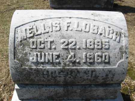 LOBACH, MELLIS F. - Lehigh County, Pennsylvania | MELLIS F. LOBACH - Pennsylvania Gravestone Photos