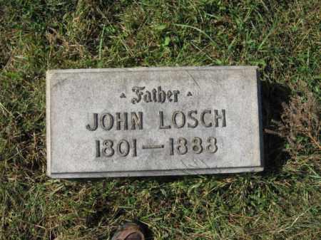 LOSCH, JOHN - Lehigh County, Pennsylvania   JOHN LOSCH - Pennsylvania Gravestone Photos