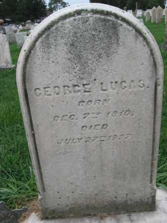 LUCAS, GEORGE - Lehigh County, Pennsylvania   GEORGE LUCAS - Pennsylvania Gravestone Photos