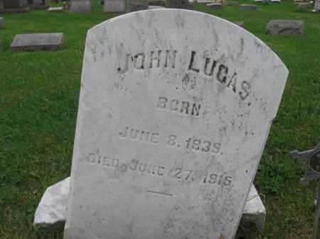 LUCAS, JOHN - Lehigh County, Pennsylvania   JOHN LUCAS - Pennsylvania Gravestone Photos