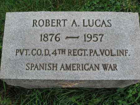 LUCAS, ROBERT A. - Lehigh County, Pennsylvania   ROBERT A. LUCAS - Pennsylvania Gravestone Photos