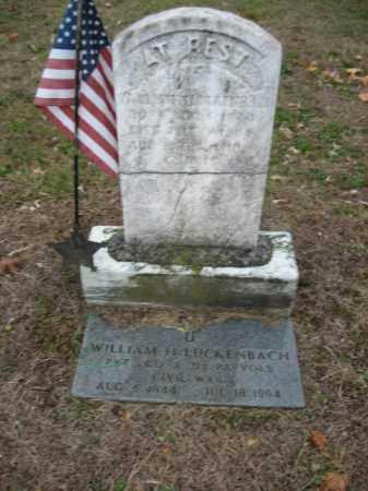 LUCKENBACH (CW), WILLIAM H. - Lehigh County, Pennsylvania | WILLIAM H. LUCKENBACH (CW) - Pennsylvania Gravestone Photos