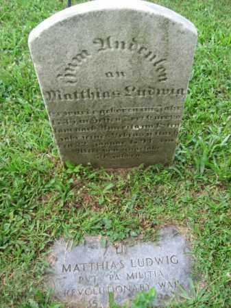 LUDWIG, MATTHIAS - Lehigh County, Pennsylvania | MATTHIAS LUDWIG - Pennsylvania Gravestone Photos