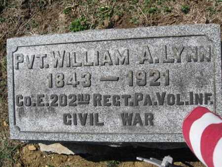 LYNN (CW), WILLIAM A. - Lehigh County, Pennsylvania | WILLIAM A. LYNN (CW) - Pennsylvania Gravestone Photos