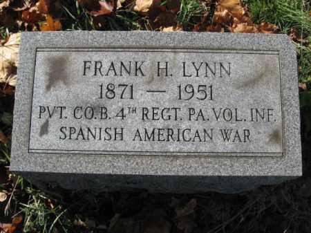 LYNN, FRANK S. - Lehigh County, Pennsylvania | FRANK S. LYNN - Pennsylvania Gravestone Photos
