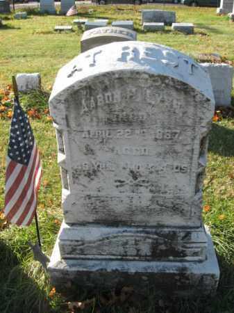 LYNN, PVT. AARON H. - Lehigh County, Pennsylvania | PVT. AARON H. LYNN - Pennsylvania Gravestone Photos
