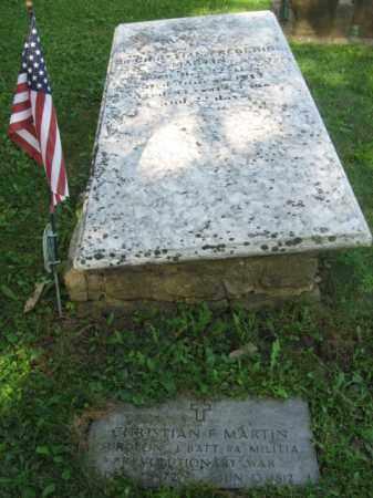 MARTIN, CHRISTIAN - Lehigh County, Pennsylvania   CHRISTIAN MARTIN - Pennsylvania Gravestone Photos