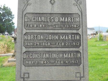 MARTIN, NORTON JOHN - Lehigh County, Pennsylvania | NORTON JOHN MARTIN - Pennsylvania Gravestone Photos