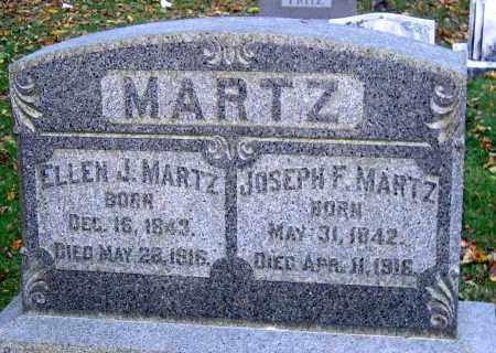 MARTZ, ELLEN J. - Lehigh County, Pennsylvania | ELLEN J. MARTZ - Pennsylvania Gravestone Photos