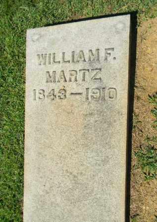MARTZ, WILLIAM F. - Lehigh County, Pennsylvania   WILLIAM F. MARTZ - Pennsylvania Gravestone Photos