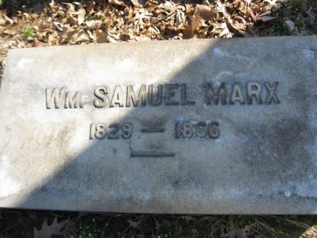 MARX (CW), WILLIAM SAMUEL - Lehigh County, Pennsylvania | WILLIAM SAMUEL MARX (CW) - Pennsylvania Gravestone Photos