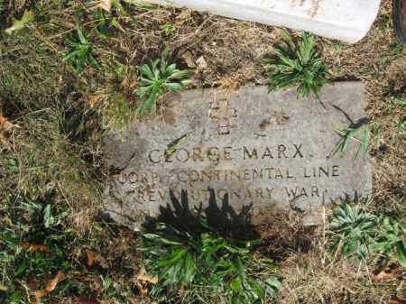 MARX, GEORGE - Lehigh County, Pennsylvania   GEORGE MARX - Pennsylvania Gravestone Photos