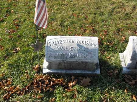 MCCAPE, PVT. SYLVESTER - Lehigh County, Pennsylvania | PVT. SYLVESTER MCCAPE - Pennsylvania Gravestone Photos