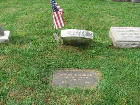 MCDONALD, EDWARD - Lehigh County, Pennsylvania   EDWARD MCDONALD - Pennsylvania Gravestone Photos
