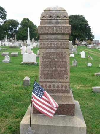 MCHOSE, EDWIN T. - Lehigh County, Pennsylvania   EDWIN T. MCHOSE - Pennsylvania Gravestone Photos