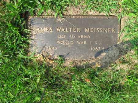 MEISSNER, JAMES WALTER - Lehigh County, Pennsylvania   JAMES WALTER MEISSNER - Pennsylvania Gravestone Photos