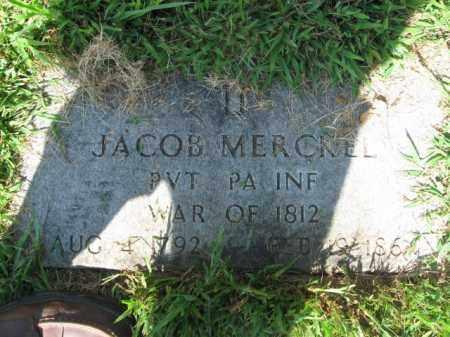 MERCKEL, JACOB - Lehigh County, Pennsylvania | JACOB MERCKEL - Pennsylvania Gravestone Photos