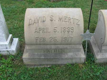 MERTZ, DAVID A. - Lehigh County, Pennsylvania | DAVID A. MERTZ - Pennsylvania Gravestone Photos