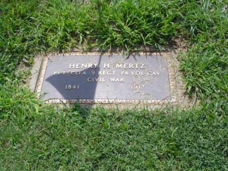 MERTZ, HENRY H. - Lehigh County, Pennsylvania | HENRY H. MERTZ - Pennsylvania Gravestone Photos