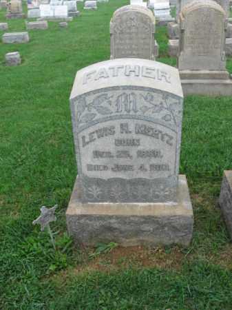 MERTZ, LEWIS H. - Lehigh County, Pennsylvania   LEWIS H. MERTZ - Pennsylvania Gravestone Photos