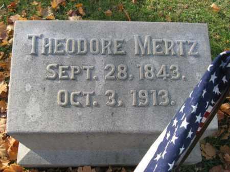 MERTZ, THEODORE - Lehigh County, Pennsylvania | THEODORE MERTZ - Pennsylvania Gravestone Photos