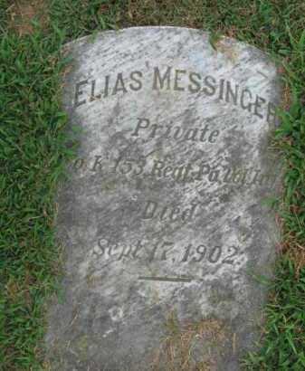 MESSINGER, ELIAS - Lehigh County, Pennsylvania | ELIAS MESSINGER - Pennsylvania Gravestone Photos