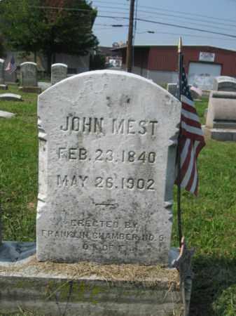 MEST, JOHN - Lehigh County, Pennsylvania | JOHN MEST - Pennsylvania Gravestone Photos