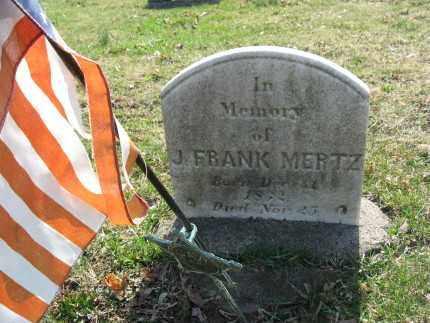 METZ (CW), J.FRANKLIN - Lehigh County, Pennsylvania | J.FRANKLIN METZ (CW) - Pennsylvania Gravestone Photos