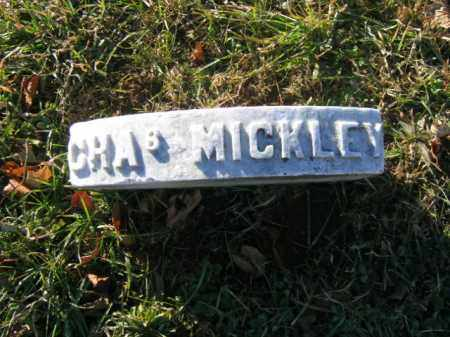 MICKLEY, CAPT. CHARLES - Lehigh County, Pennsylvania | CAPT. CHARLES MICKLEY - Pennsylvania Gravestone Photos