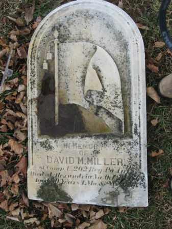 MILLER   (CW), DAVID M. - Lehigh County, Pennsylvania | DAVID M. MILLER   (CW) - Pennsylvania Gravestone Photos
