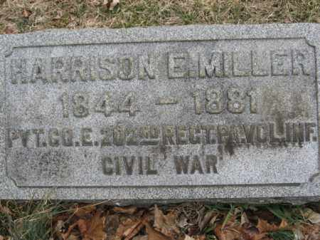 MILLER  (CW), PVT.HARRISON E. - Lehigh County, Pennsylvania | PVT.HARRISON E. MILLER  (CW) - Pennsylvania Gravestone Photos