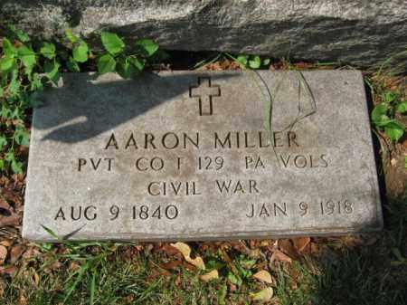 MILLER, AARON - Lehigh County, Pennsylvania   AARON MILLER - Pennsylvania Gravestone Photos