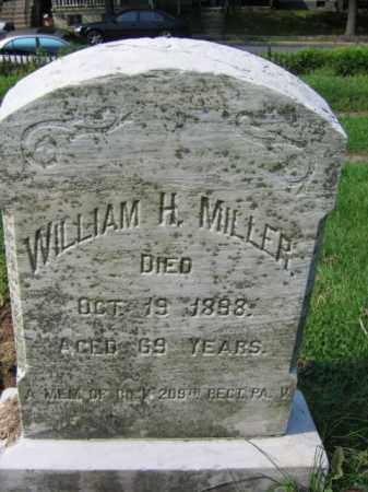 MILLER, CAPT. WILLIAM H. - Lehigh County, Pennsylvania | CAPT. WILLIAM H. MILLER - Pennsylvania Gravestone Photos