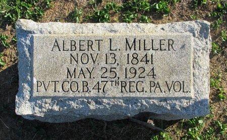 MILLER (CW), ALBERT L. - Lehigh County, Pennsylvania   ALBERT L. MILLER (CW) - Pennsylvania Gravestone Photos